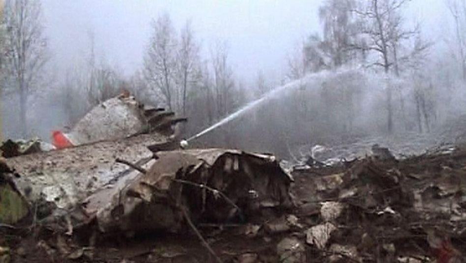 Polens Präsident Kaczynski ist tot: Crash beim vierten Landeversuch