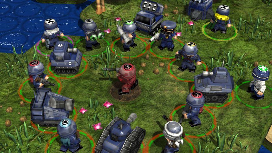 """""""Great Big War Game"""": Auf Android und iOS erfolgreich, nicht jedoch auf Windows-Tablets"""