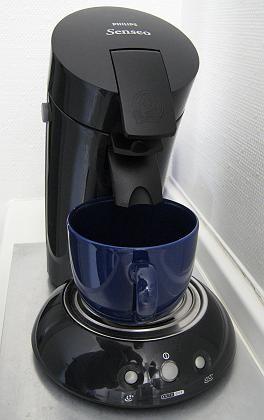 Senseo-Kaffeemaschine: Kratzer und kleine Verbrühungen