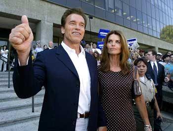 Hat offenbar gute Chancen, der nächste Gouverneur in Kaliforien zu werden: Arnold Schwarzenegger