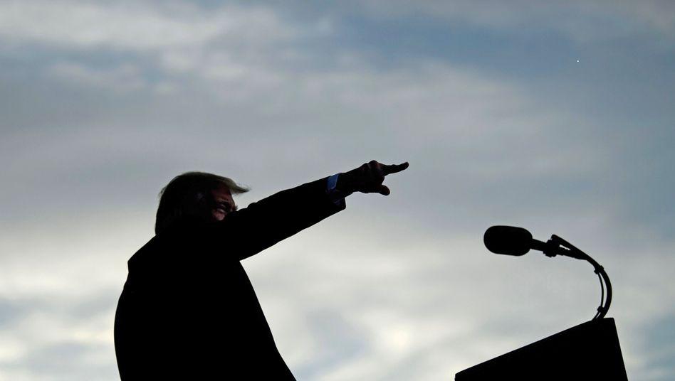 Donald Trump in Florida: Beim Wahlkampfauftritt teilt er in Richtung China und Iran aus