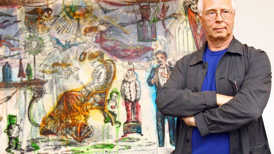 """Maler Sigmar Polke: """"Ich bin auch ein Punkt"""""""