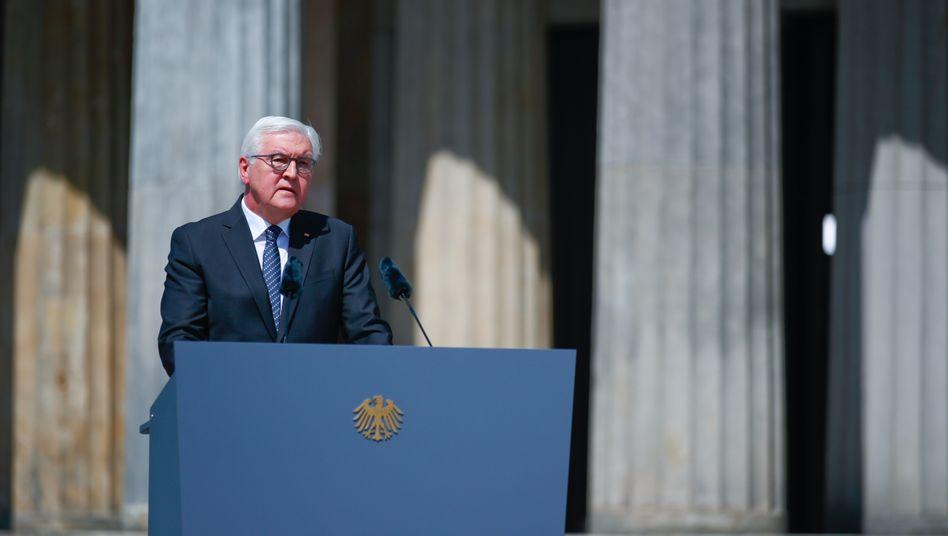Mahnte am Tag der Befreiung vor neuem Nationalismus: Bundespräsident Steinmeier in Berlin