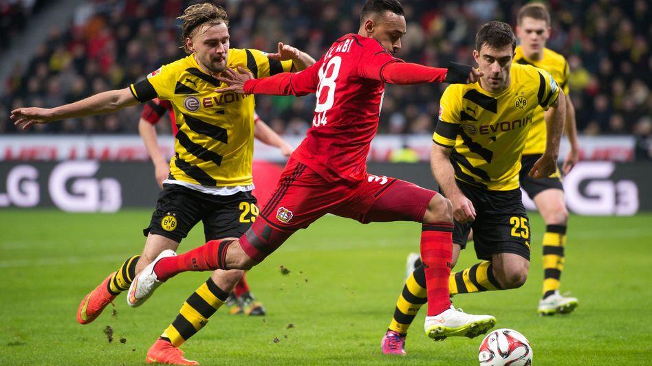 Duell Dortmund gegen Leverkusen: Die Pressing-Liga Europas