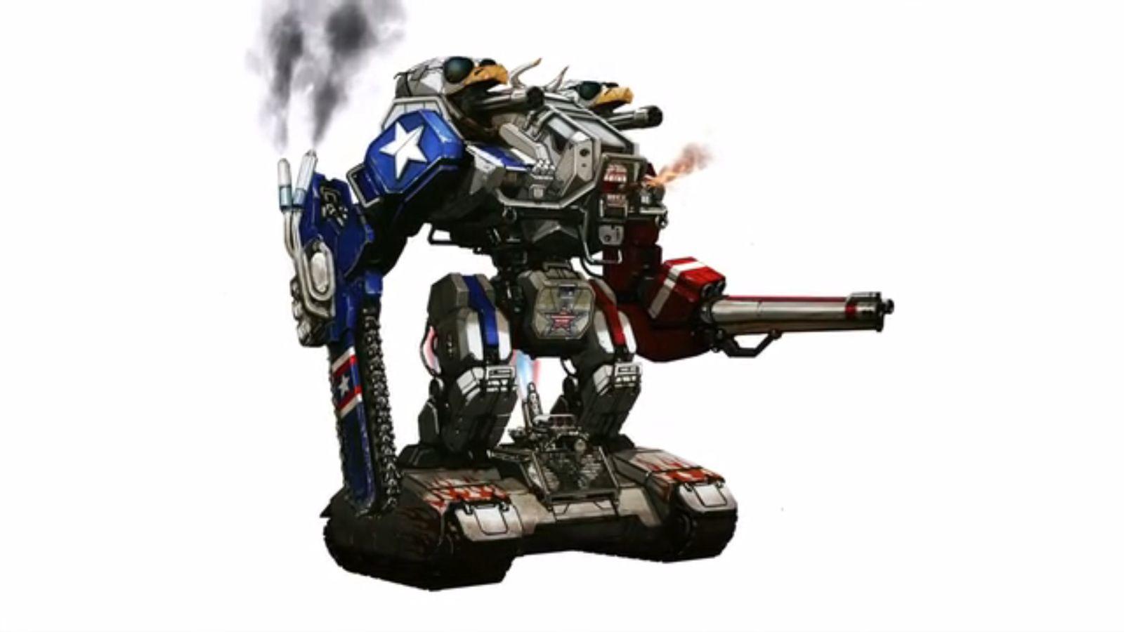 NUR ALS ZITAT Screenshot Roboter USA