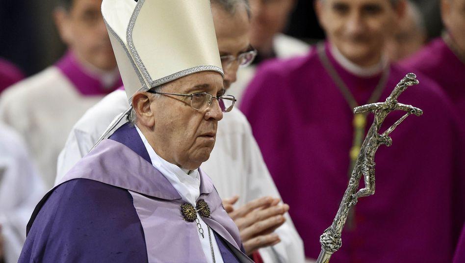 """Papst Franziskus: """"Situation ist erschreckend"""""""