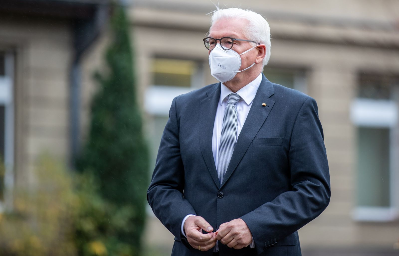 President Steinmeier Visits Local Health Office During The Second Wave Of The Coronavirus Pandemic