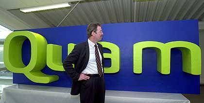Der Ex-Chef und sein Logo: Erst ging der erfolglose Ernst Folgman, dann wurden fast alle seiner Mitarbeiter entlassen