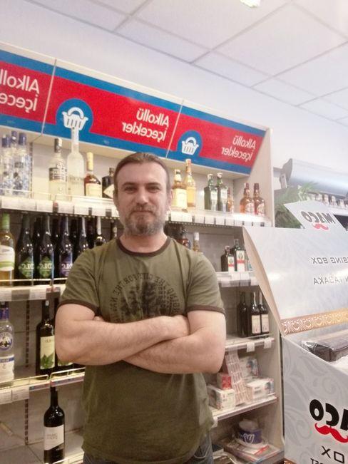 Emin Savaş hat seinen Kiosk vor sieben Jahren eröffnet