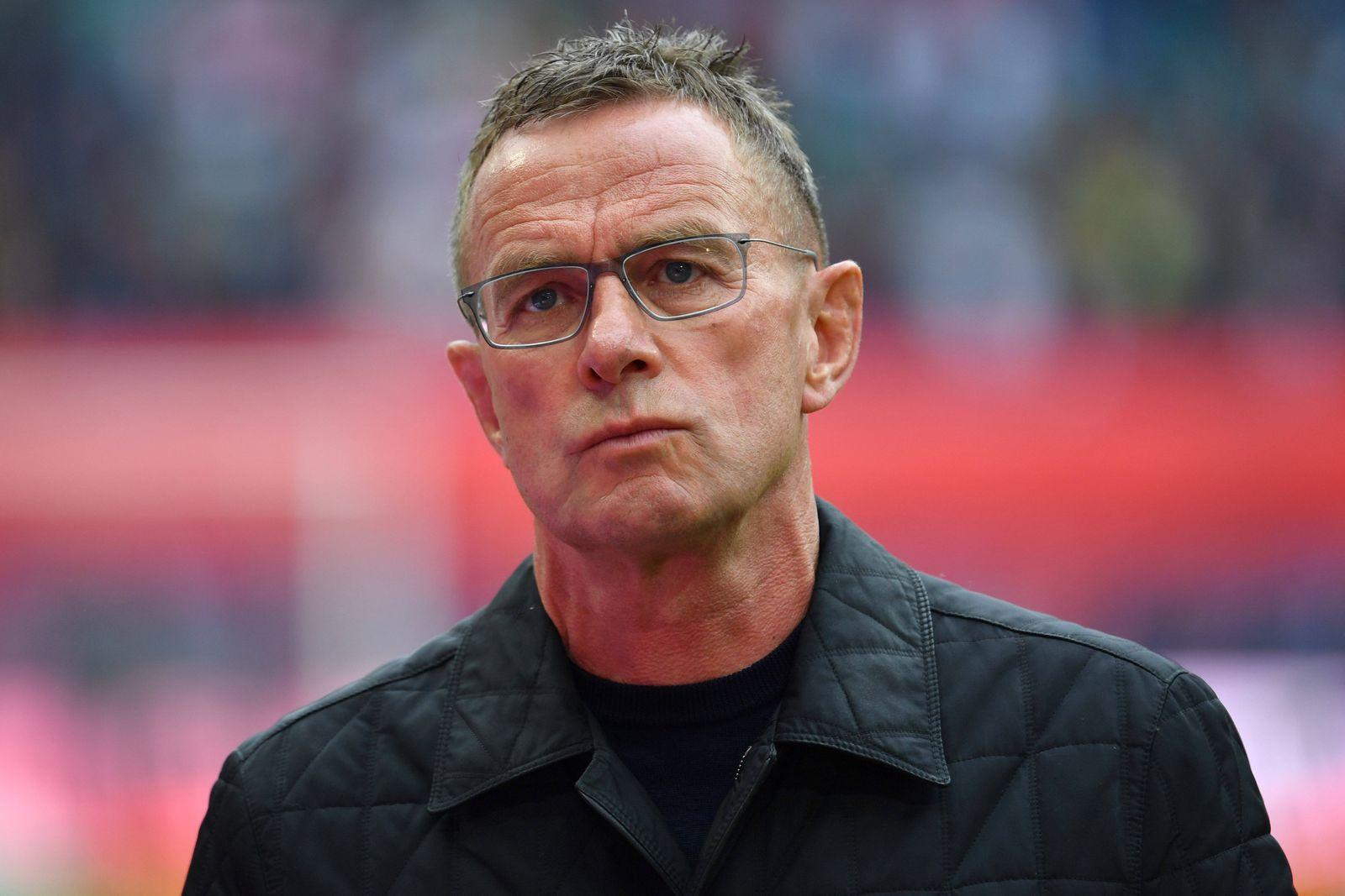 Bericht: Rangnick vor Rueckkehr zu Schalke. Archivfoto:Ralf RANGNICK (Trainer L), Einzelbild,angeschnittenes Einzelmotiv