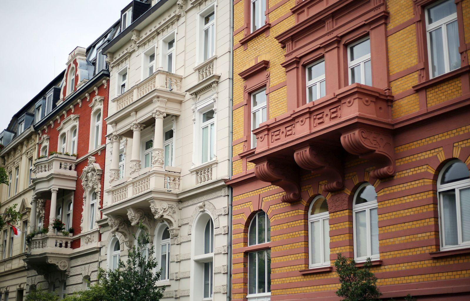 Wohnhäuser in Köln