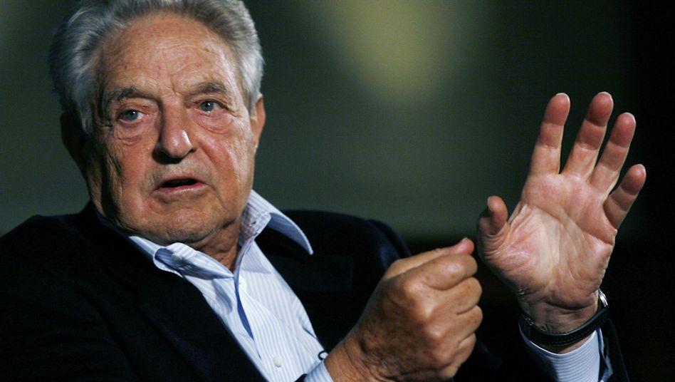 Wall-Street-Legende Soros: Sieht ein Europa der zwei Geschwindigkeiten kommen
