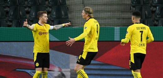 Borussia Dortmund steht im DFB-Pokal-Halbfinale: Der 13-Sekunden-Angriff
