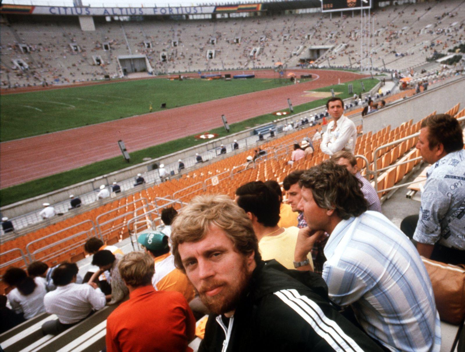 Moskau 1980 - Guido Kratschmer als Zuschauer