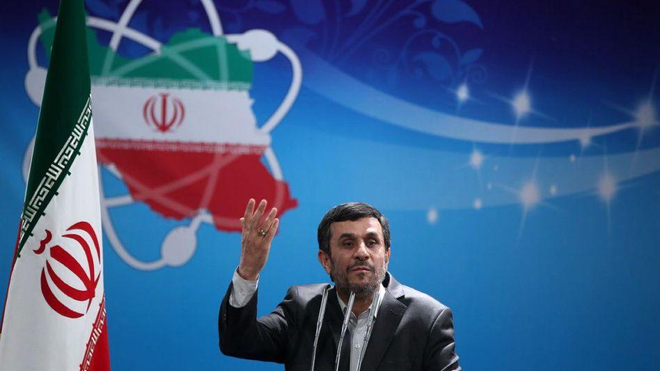 Irans Präsident Ahmadinedschad: Regime meldet Zerschlagung eines Sabotagenetzes