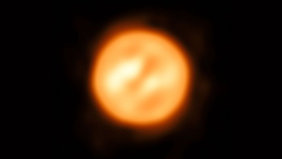 Der rote Superriese Antares