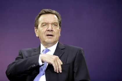 """Kanzler Schröder: """"Keine ständige Nivellierung nach unten"""""""