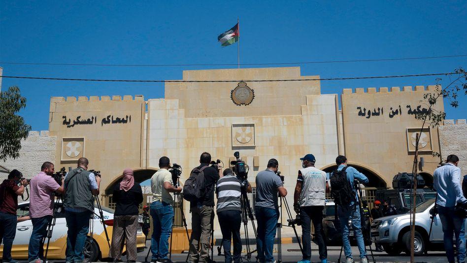 Gericht in Amman, wo der Prozess gegen mutmaßliche Verschwörer stattgefunden hat