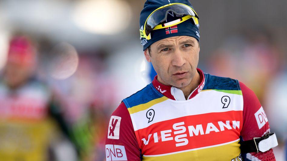 Biathlet Ole Einar Björndalen