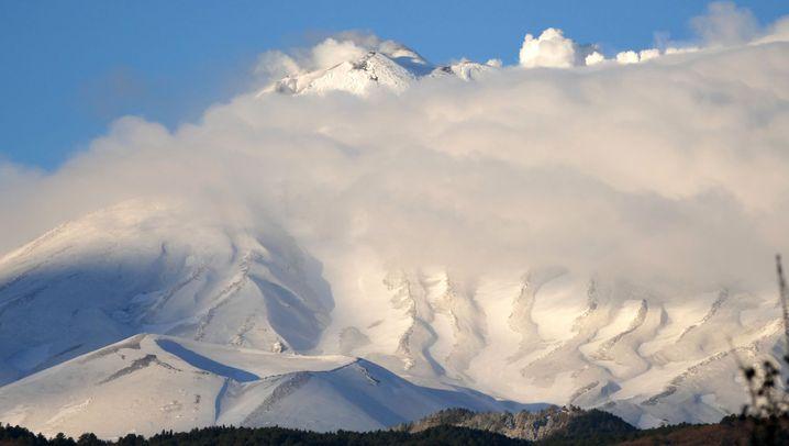Skitour auf dem Ätna: Der Berg brodelt