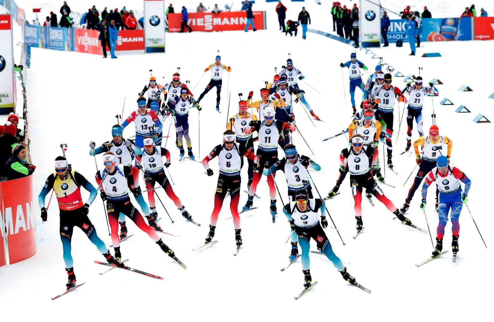Men 15 km Mass start, Pokljuka, Slovenia - 26 Jan 2020