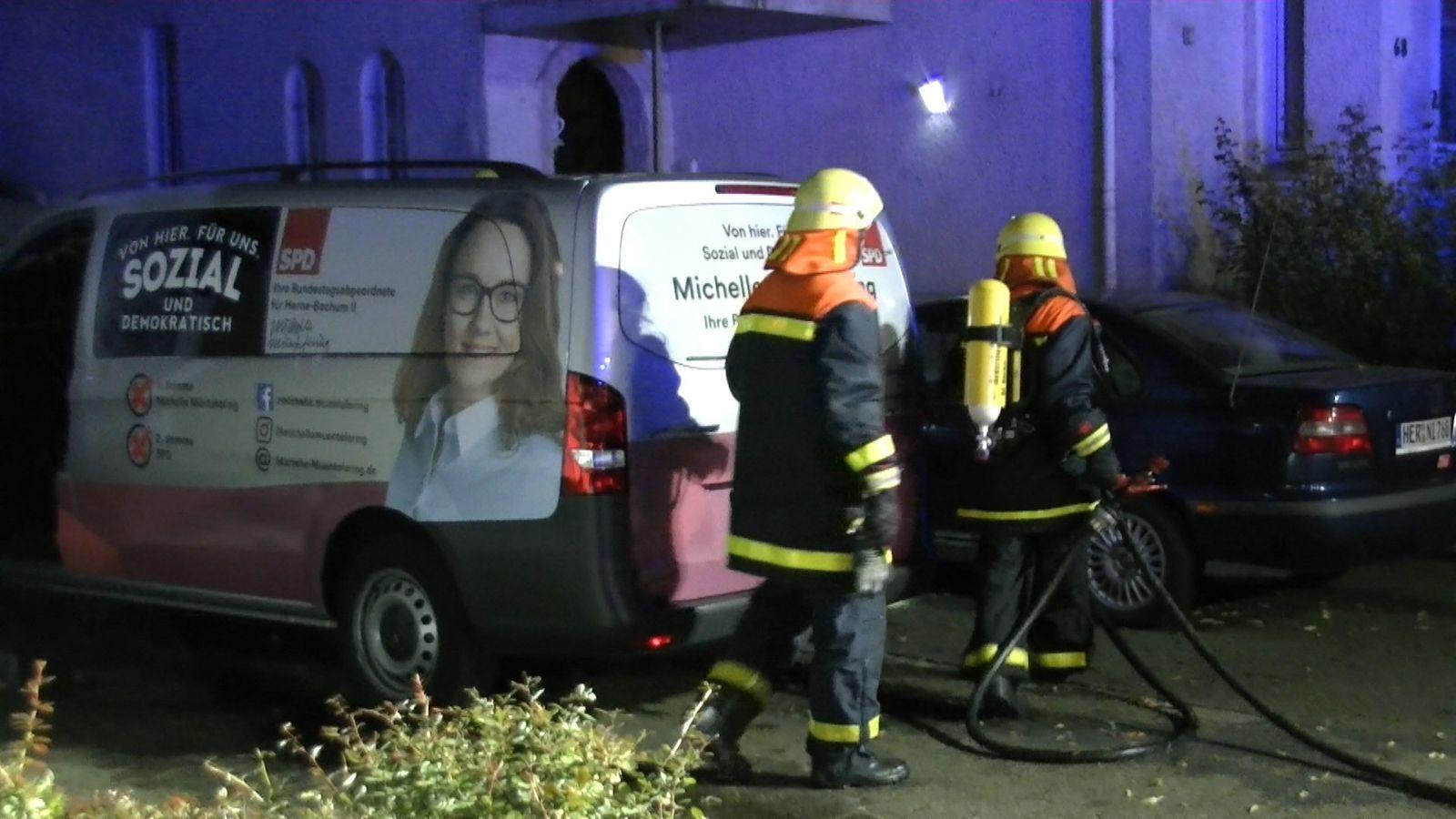 Brandanschlag auf Autos von Michelle Müntefering