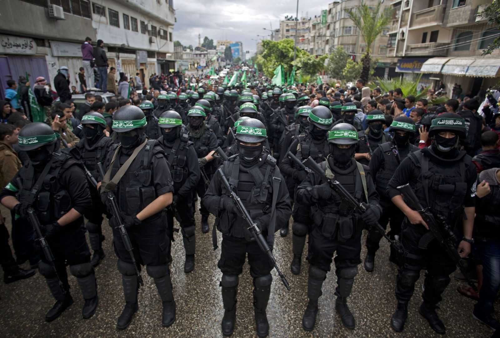 Mideast Palestinians Hamas Anniversary