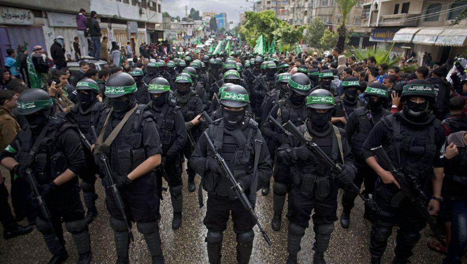 Feiern zum Geburtstag der Hamas: Palästinensische Organisation wird von Terrorliste genommen
