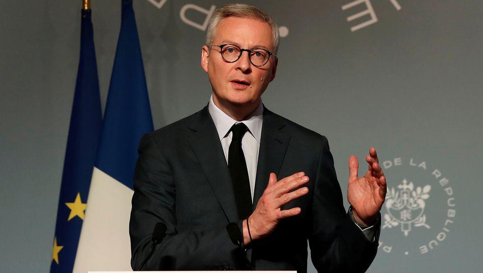 Frankreichs Finanzminister Le Maire: Europa entscheidet und ist der Schwere der Krise gewachsen.