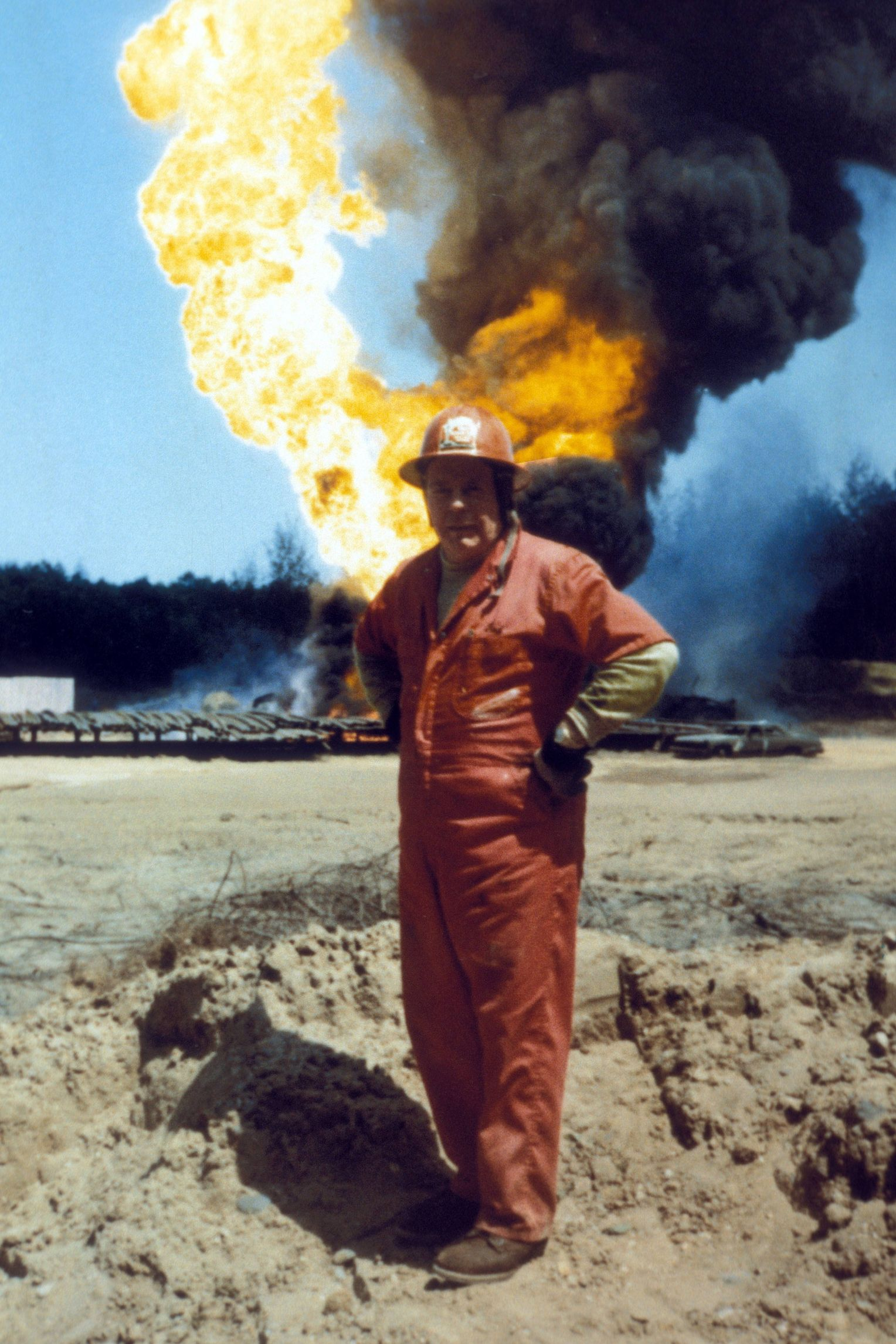 Red Adair: Berühmtester Feuerwehrmann der Welt - DER SPIEGEL