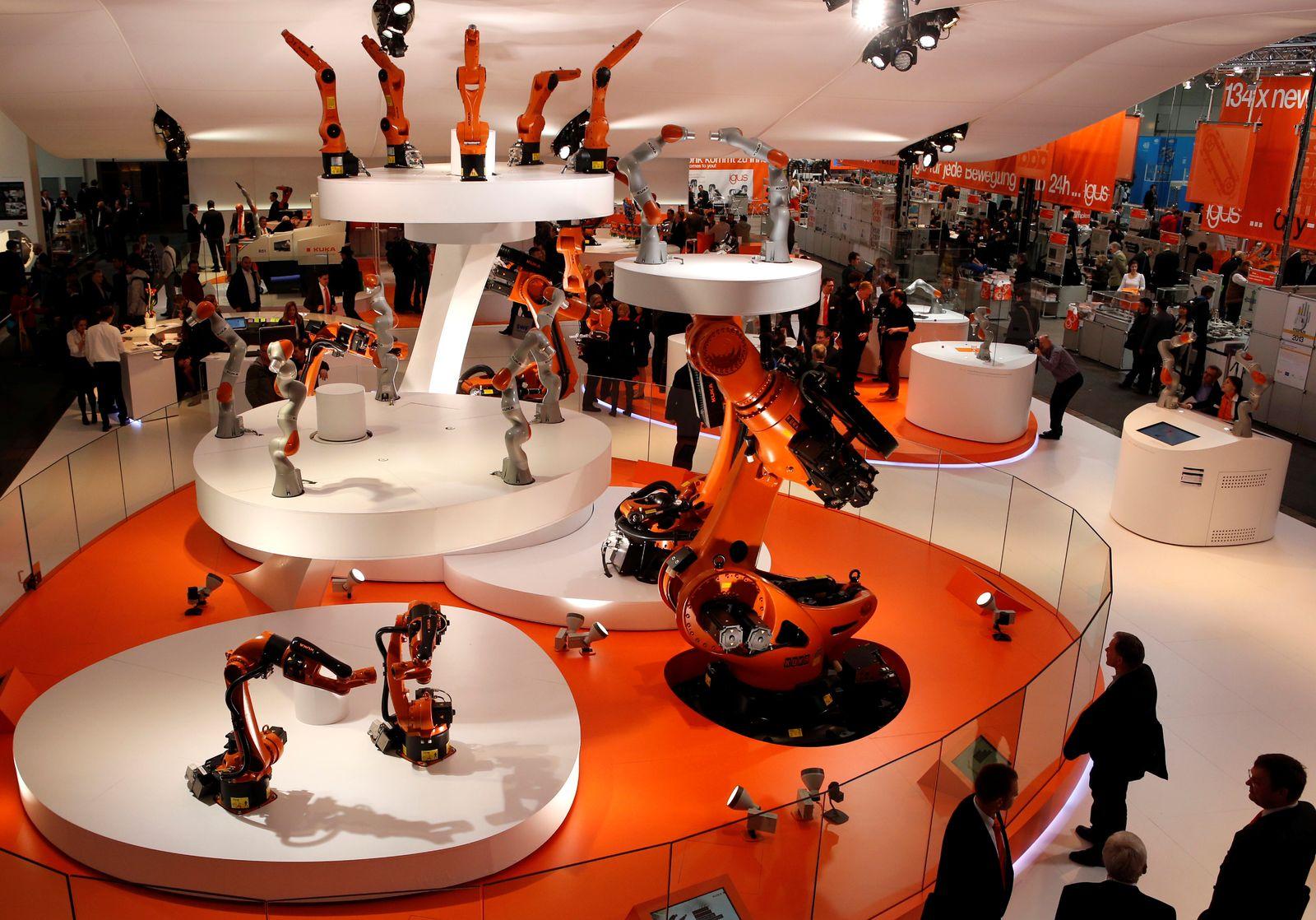 Kuka industrial robots / Hanover