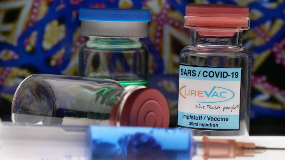 Impfstoffdosen von Curevac