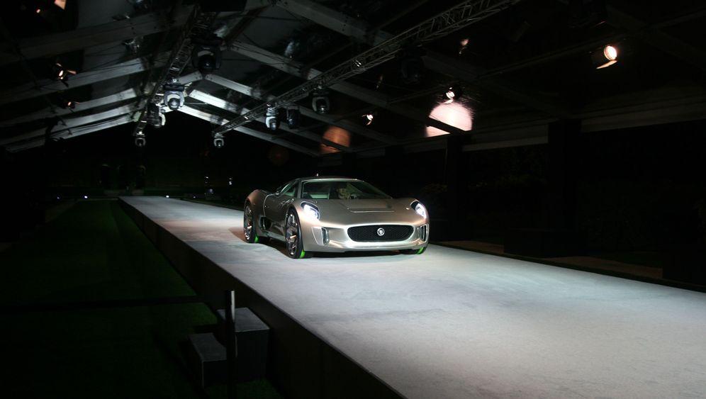 Jaguar C-X75: Zisch und weg