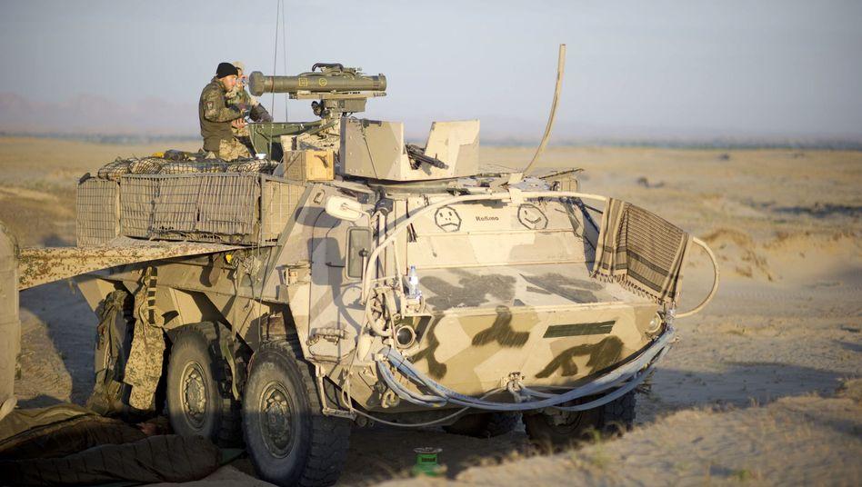Bundeswehrsoldaten nahe Kunduz: Bisher starben 43 Deutsche im Afghanistan-Einsatz
