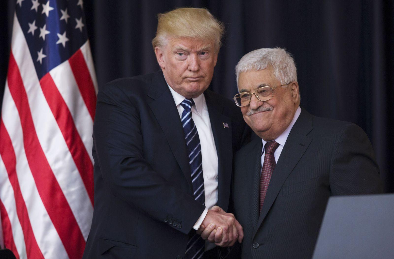 Donald Trump/Mahmoud Abbas