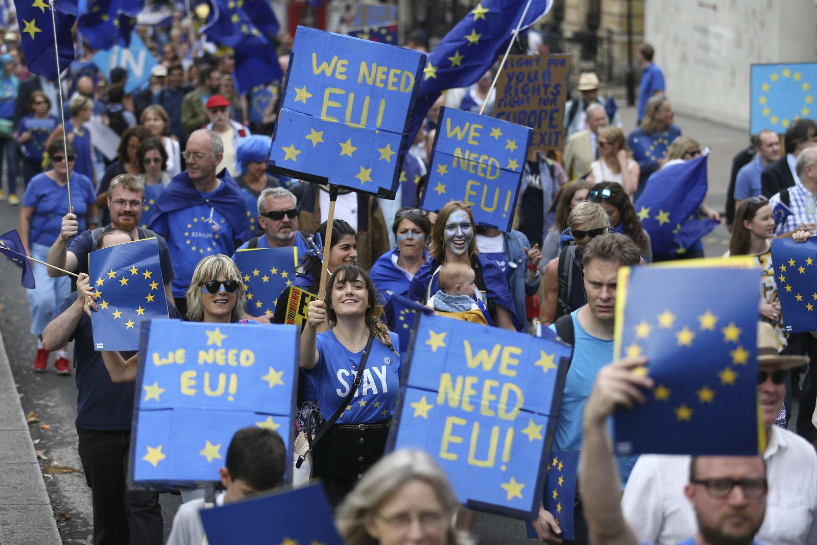 EU Fahnen / London / Europa