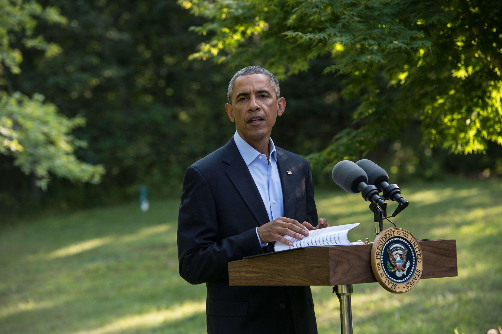 Obama zum Irak