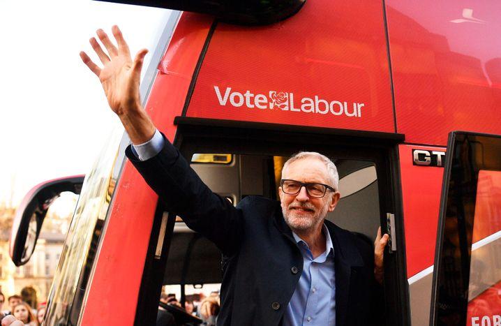 Oppositionsführer Corbyn: Grüne Pläne, schlechte Beliebtheitswerte
