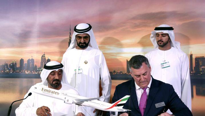 Debakel um Riesenflieger in Dubai: Airbus A380 - vom Hoffnungsträger zum Ladenhüter