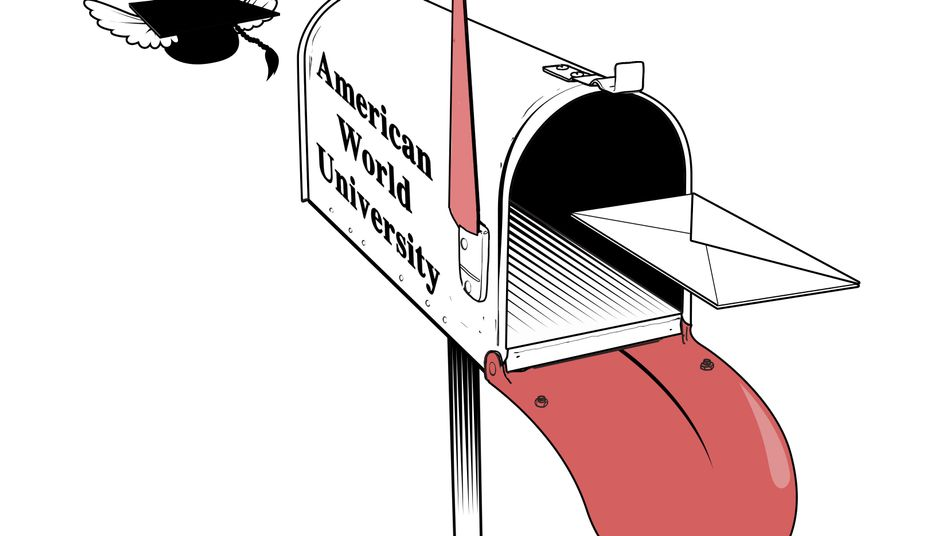 """American World University"": Billig-Turbo zum falschen Titel"