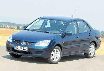 Japanische Autos werden stehen gelassen: Mitsubishi Lancer