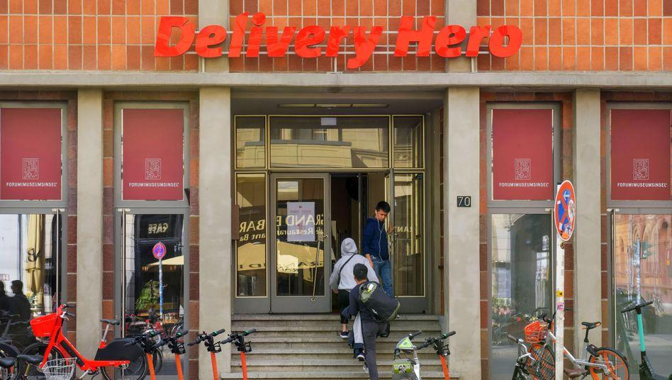 Delivery Hero in Berlin-Mitte: Will in Deutschland »die Nummer eins langfristig herausfordern«