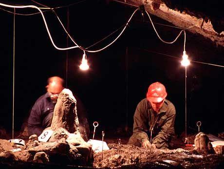Genaue Informationen darüber, welcher Kult in der Höhle gefeiert wurde, haben die Wissenschaftler bislang noch nicht