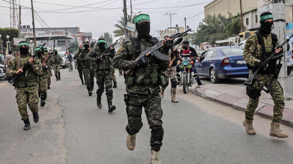 Hamas-Kämpfer im Gazastreifen