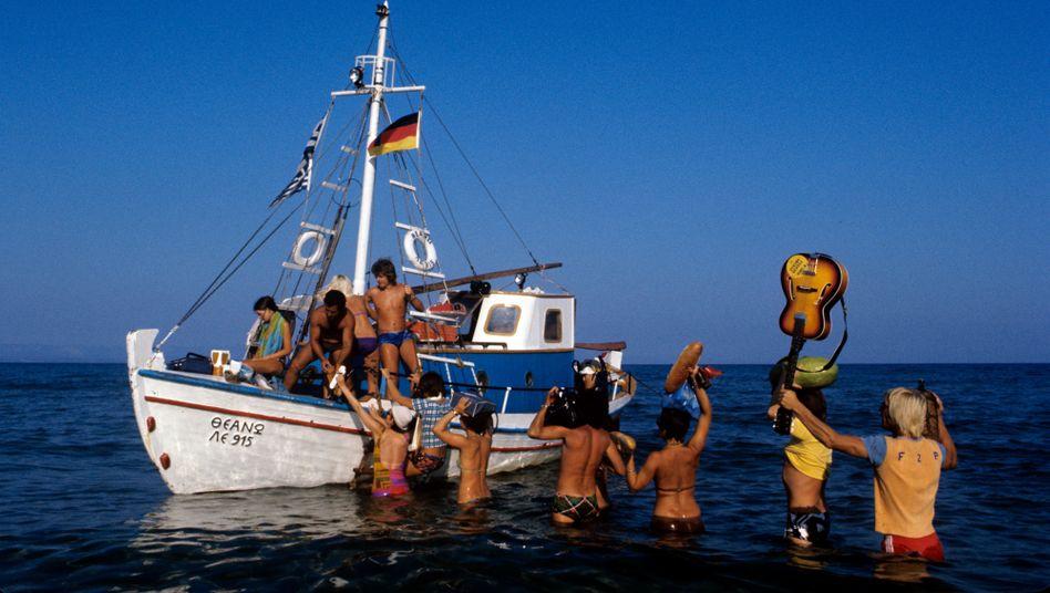 Hippie-Ausflug in Griechenland