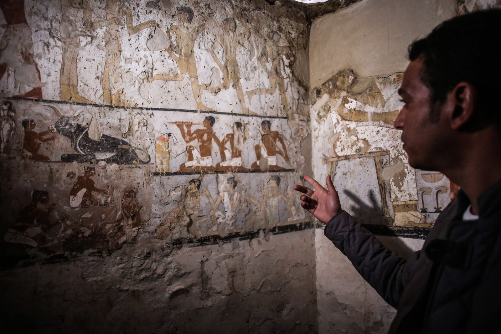 Archäologen entdecken neue Grabstätte bei Gizeh