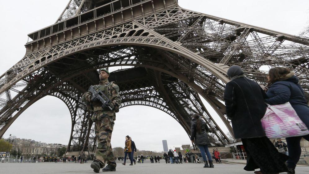 Terror in Frankreich: Denkmäler unter Schwerstbewachung