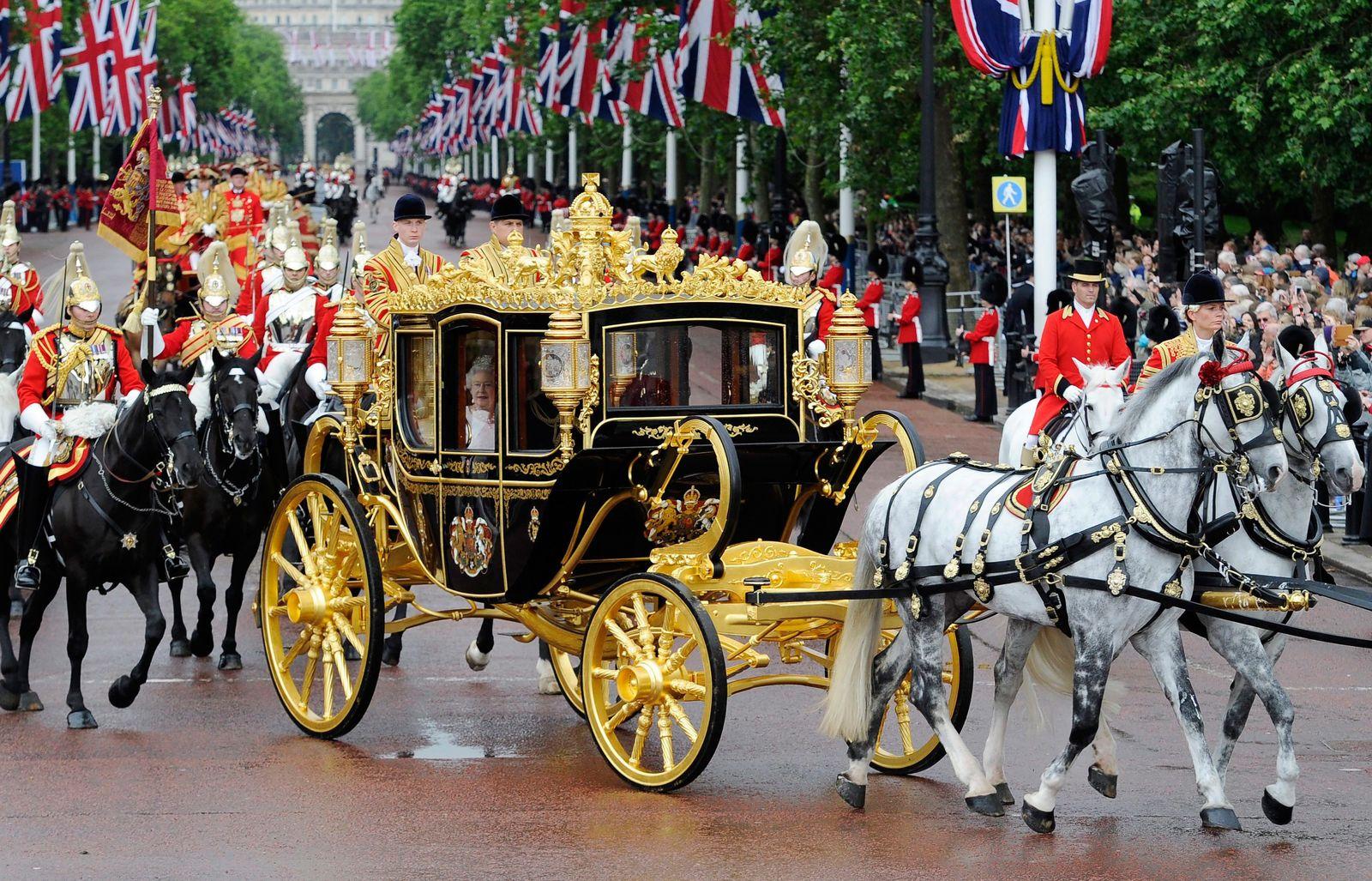 Queen Elizabeth II/ State Opening Of Parliament