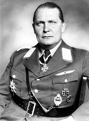 Hermann Göring ordered the seizure of art treasures in Nazi-occupied territory.