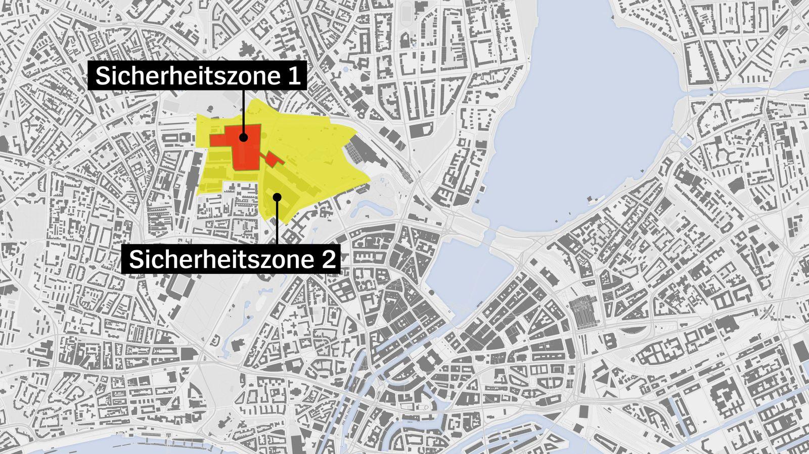 g20 Sicherheitszonen
